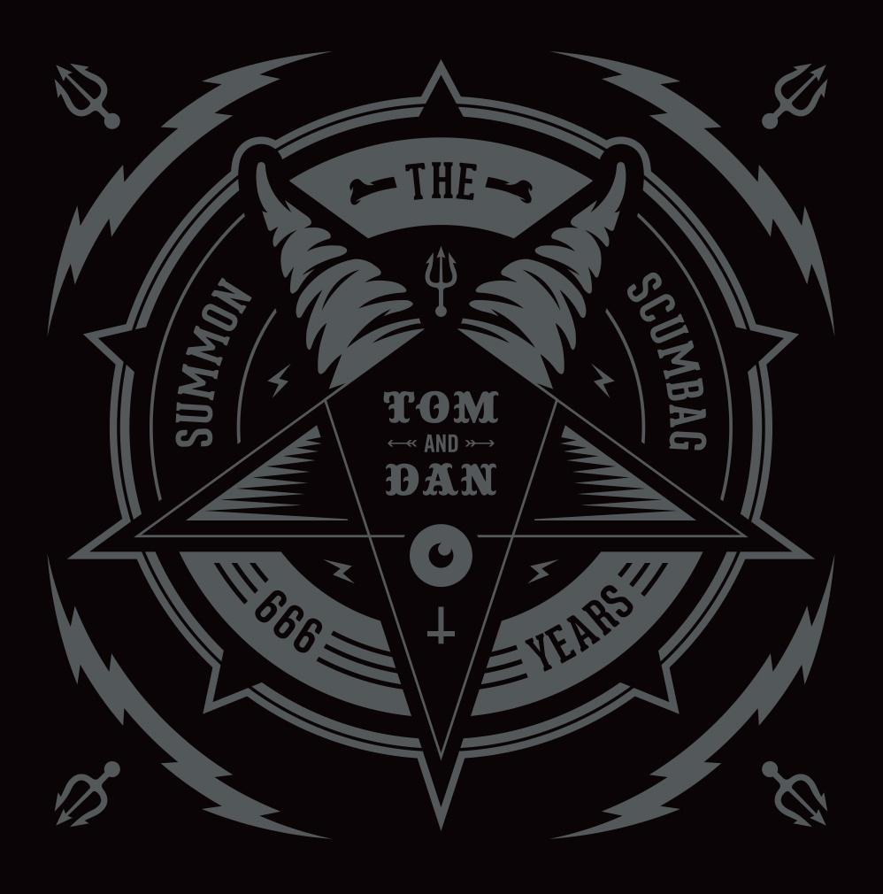 Tom & Dan Summon the Scumbag logo