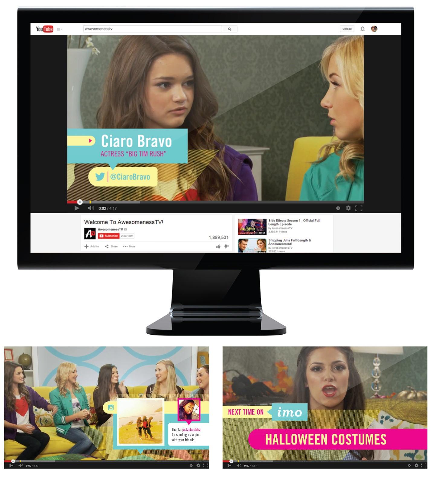 In-video Graphics for AwesomenessTV Shows