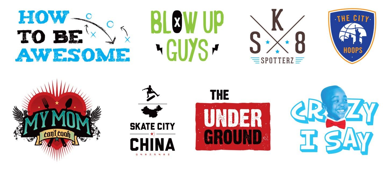Branding for AwesomenessTV Shows