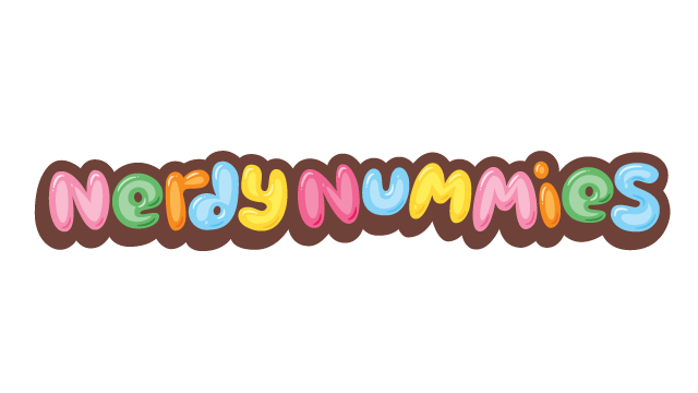 Nerdy Nummies, Horizontal Wordmark