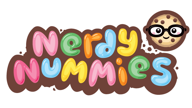 Nerdy Nummies, Primary Logo