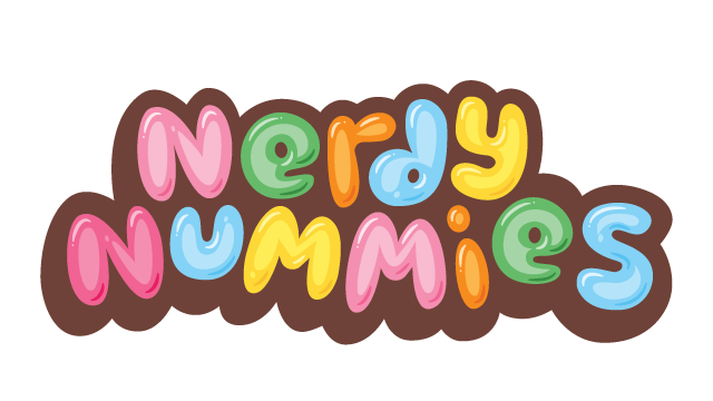Nerdy Nummies, Primary Wordmark
