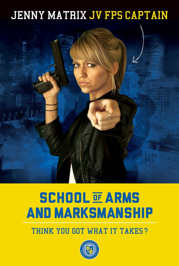 image of a VGHS school poster