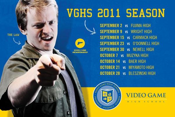 image of VGHS school calendar