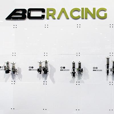Suspension at BC Racing booth at SEMA