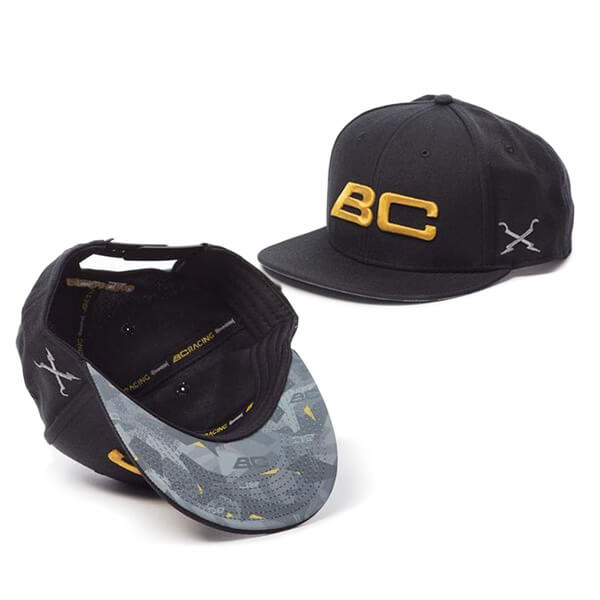BC Racing hat with detail