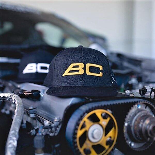 BC Racing hats