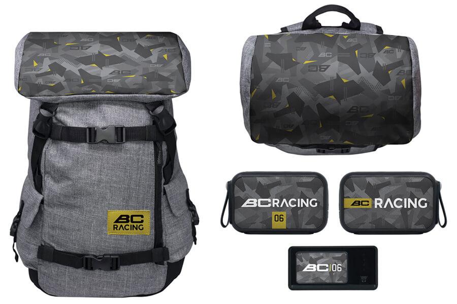 Custom BC Racing travel kit