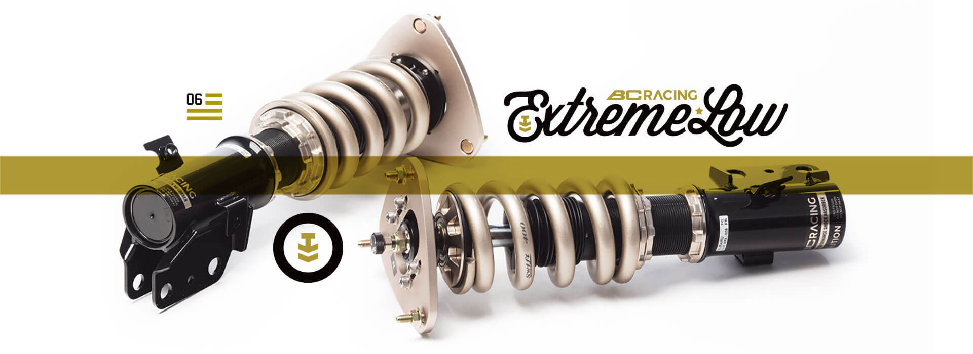 BC Racing Extreme Low coilovers