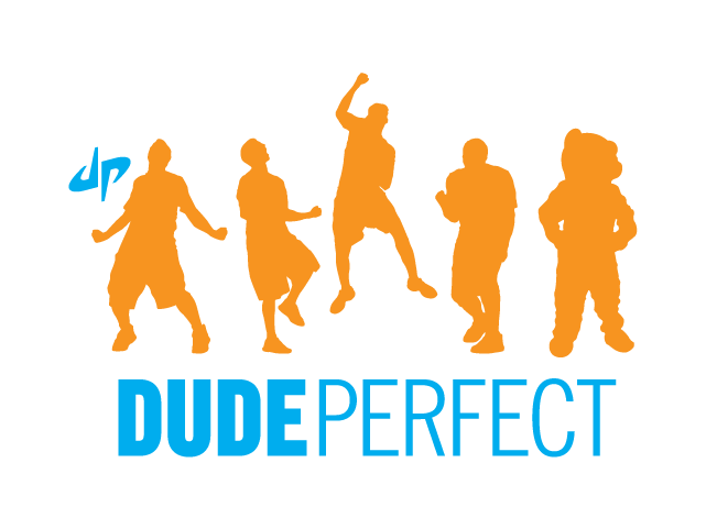 Stacked Dude Perfect logo