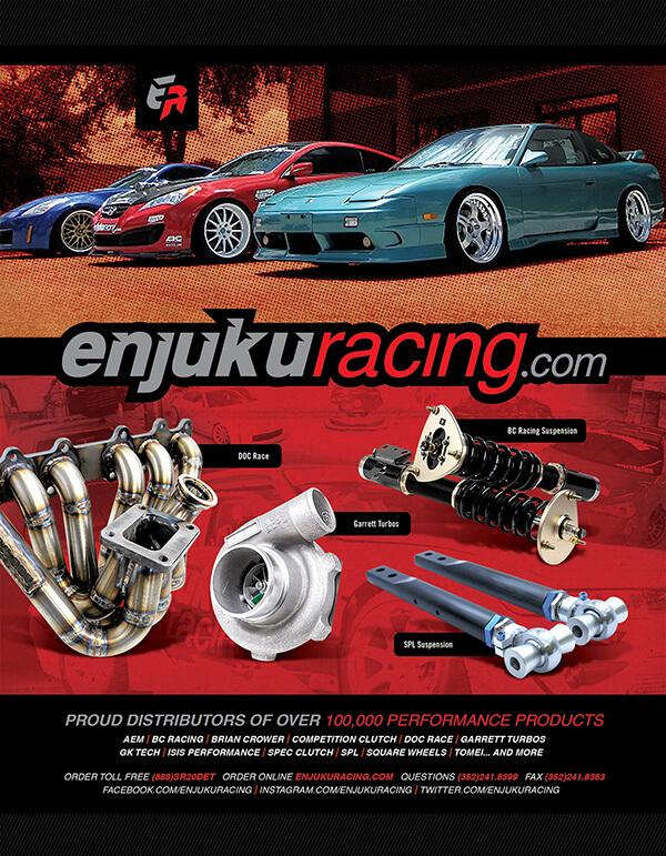 Enjuku Racing print advertisement