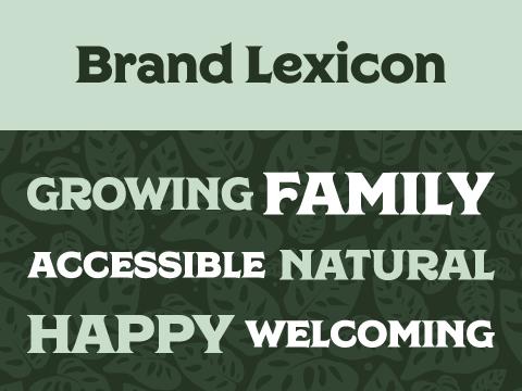 Brand lexicon for Gabriella Plants