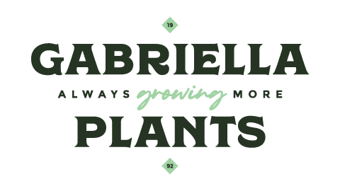 Gabriella Plants secondary logo