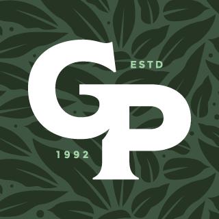 Reversed Gabriella Plants monogram