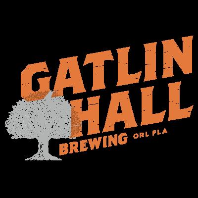 Gatlin Hall skewed logo