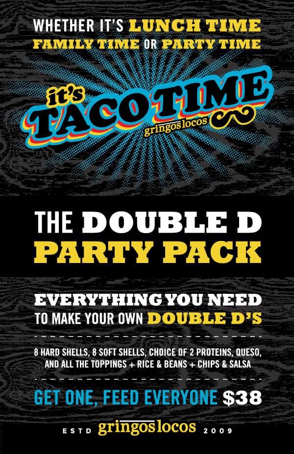 Gringos Locos Taco Time box