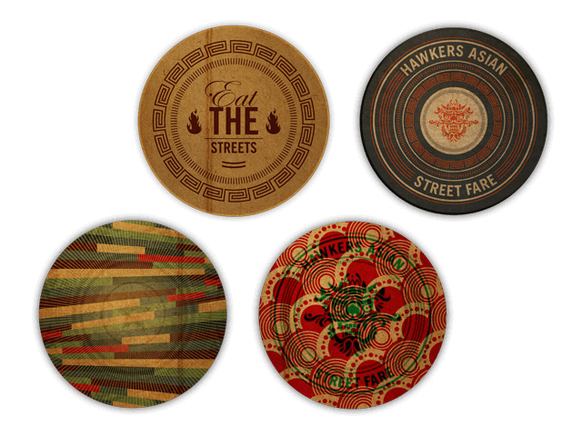 Selected Hawkers coasters