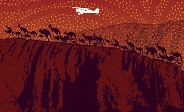 Mural for Outback Steakhouse
