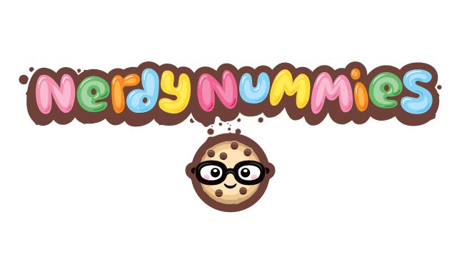 Nerdy Nummies, Horizontal Logo